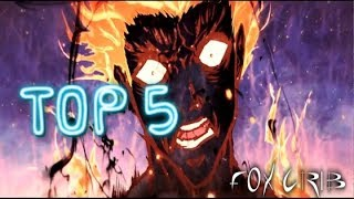 TOP 5 PELEAS ANIME A MUERTE 2017 l peleas epicas anime 2017 l best anime fights
