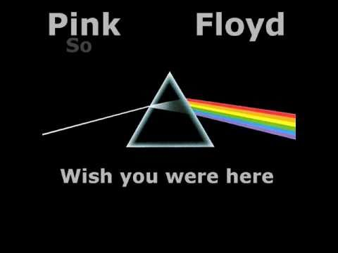 pink floyd wish you were here with lyric