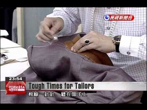 The custom tailor industry is facing challenges from off the rack clothing