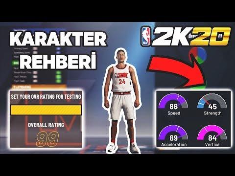 Türkçe NBA 2K20 KARAKTER OLUŞTURMA REHBERİ | NBA 2K20 Türkçe Demo