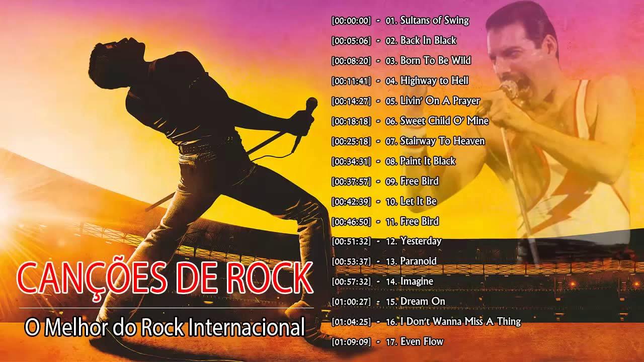 Rock Classico Internacional Anos 70 e 80 e 90 -  Melhores Musicas de Rock Classico Internacional