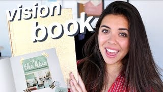 VISION BOOK TOUR + HOW-TO! Visualization, Dreams and Goals!