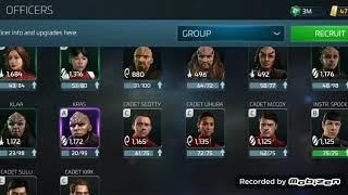 Star Trek Fleet Command - Mining Event and Bugged Crew
