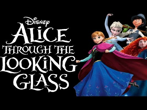 Alice through the looking glass Trailer Non/Disney Style