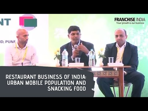 Restaurant business of India : Urban mobile population and snacking food