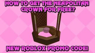 NEW ROBLOX CODE THATS GIVES YOU DOMINO CROWN