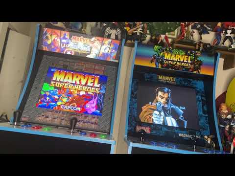 Marvel Super Heroes Arcade1up is not DEAD from KingD302