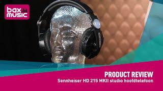 sennheiser HD 215 MKII studio hoofdtelefoon - Review