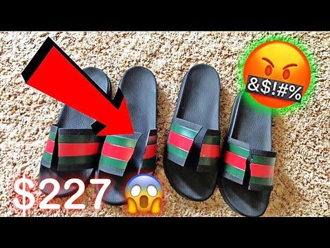 be4755bb100a R.I.P TO MY GUCCI SLIDES - YouTube