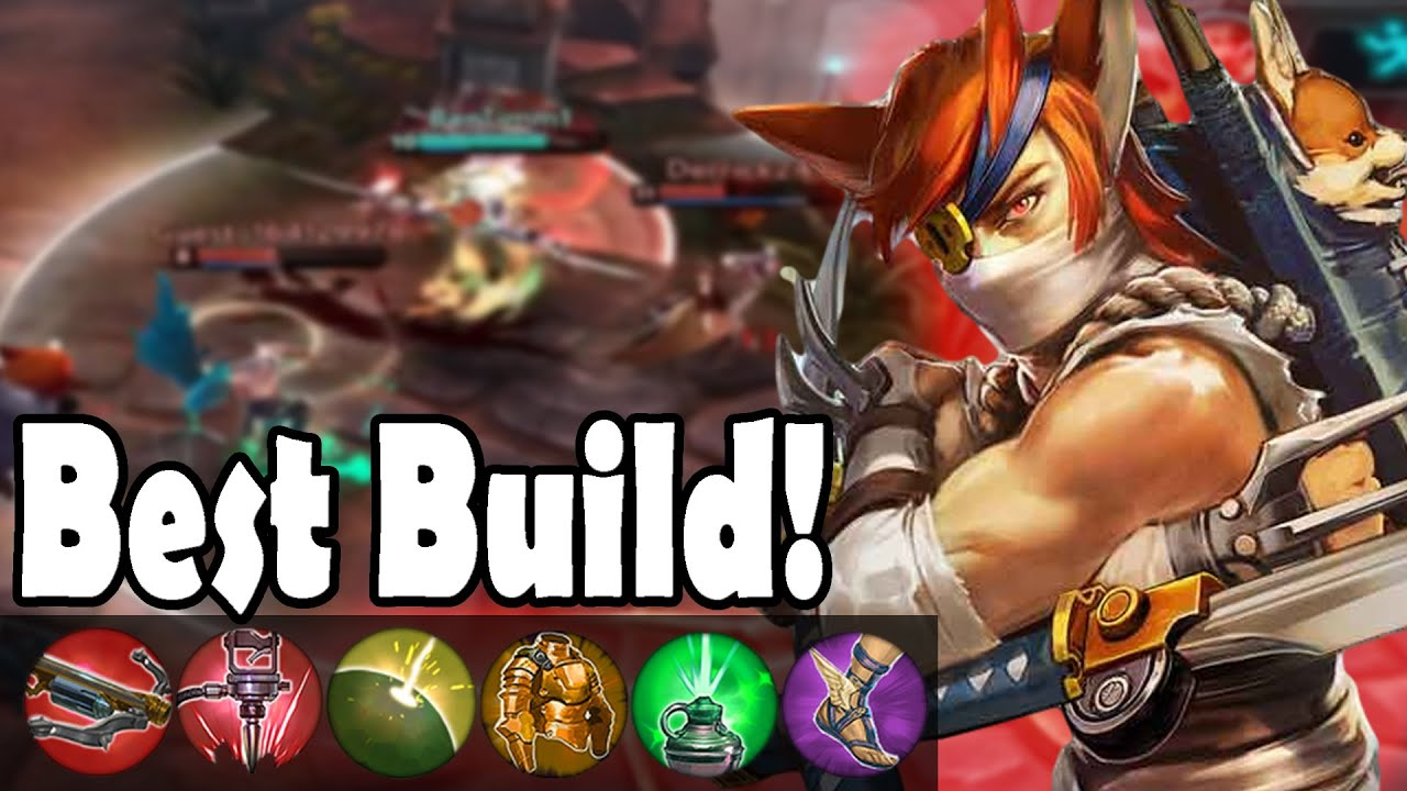 Best most annoying taka build vainglory youtube for Best builder