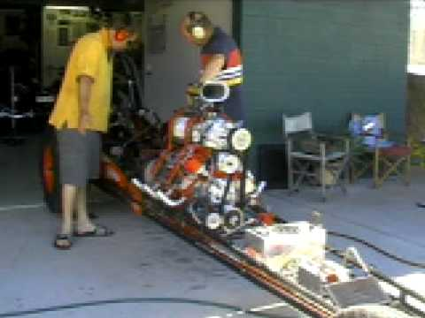 supercharged flathead ford v8 start up
