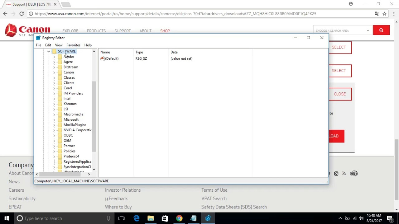 eos utility download windows 10 without cd