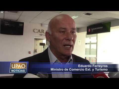 NOTA Inauguran Vuelos De Trujillo A Cuzco