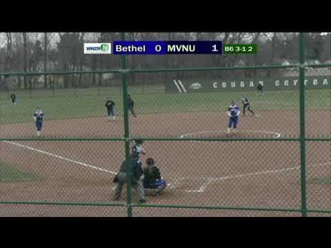MVNU Softball vs Bethel College - 4/10/18