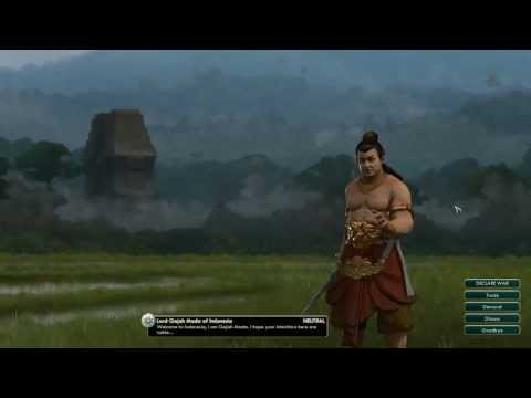 Civilization V Leader | Gajah Mada Of Indonesia