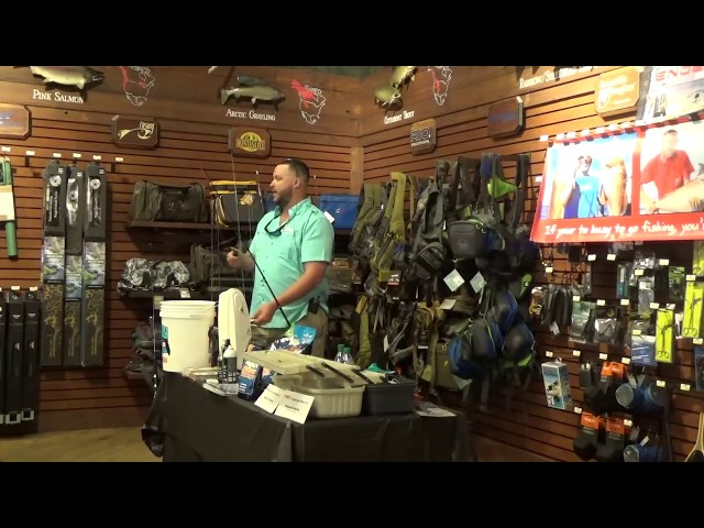 Bass Pro Shops seminar on near shore and offshore fishing | http://www.HubbardsMarina.com