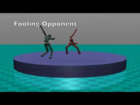 Machine learning fight scenarios