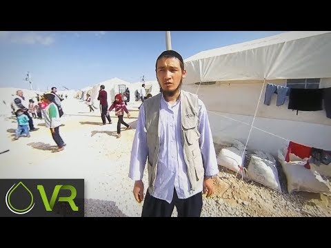 On the ground in Urfa Syrian Refugee Camp | MAA | VR 360