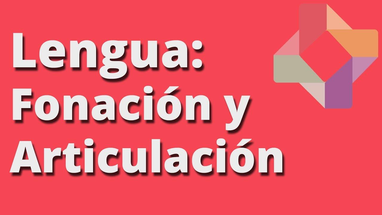 Fonación y articulación - Lengua - Educatina - YouTube
