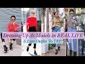 Dressing up As MODELS In REAL LiFE| 5 EASY Outfits To TRY This Winter| SONIA GARG