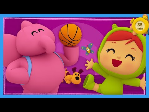 💪 POCOYO AND NINA - We can do it [85 minutes]   ANIMATED CARTOON for Children   FULL episodes