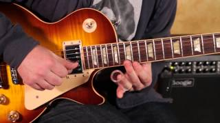 Allman Brothers - Statesboro Blues Style Licks Duane Allman Guitar Lesson and Derek Trucks Inspired