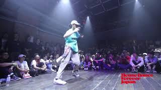 CALLOUTBATTLE Tony Ray vs STEVE VEUSTY House Dance Forever Japan 2018