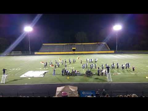 Blanchester Marching Band at Lockland 10/7/17