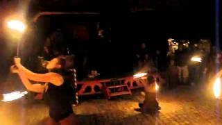 Feuershow - Pfingsten auf der Neuenburg