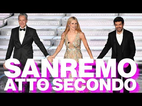 Questo piccolo grande Festival, la seconda serata di Sanremo 2018  - Timeline