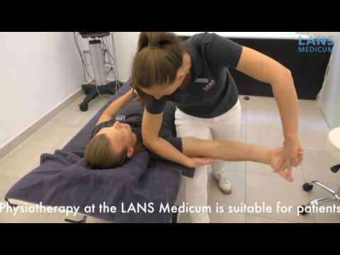 Physiotherapy at the LANS Medicum in Hamburg