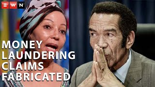 An investigation into allegations of money laundering against former Botswana President Ian Khama and South African businesswoman Bridgette Motsepe-Radebe has concluded that the claims were fabricated. This has been confirmed by international business intelligence firms Omnia and Alaco. EWN reporter Nthakoana Ngatane speaks to Omnia director and lawyer Cherie Blair.