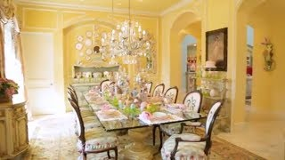 You Have To See The Incredible Easter Decorations At This Texas Mansion | Southern Living