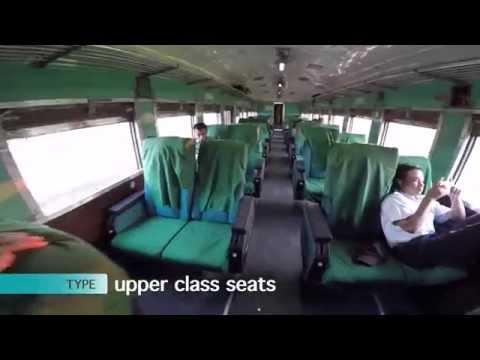 Myanmar Railways Train # 3(Up): Yangon to Mandalay