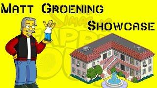TSTO Matt Groening Showcase (TSTO Character Showcase)