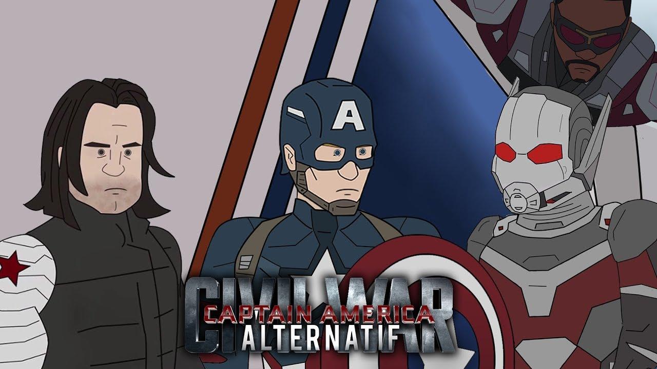 Alternatif Captain America Civil War Animation 2d Youtube