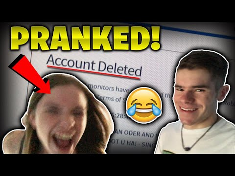 I DELETED MY SISTER'S ROBLOX ACCOUNT! *REVENGE PRANK