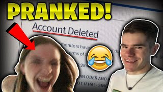 HO ELIMINATO ACCOUNT ROBLOX DI MIA SORELLA! * VENDETTA PRANK * - Linkmon99 IRL #15