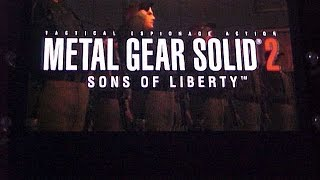 E3 2001 - Metal Gear Solid 2: Sons of Liberty