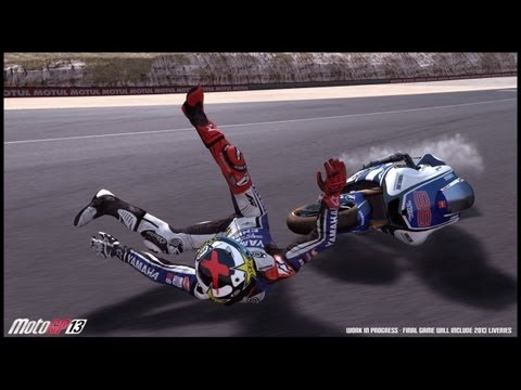 MotoGP™13 Gameplay Le Mans Marc Marquez [HD] | Doovi