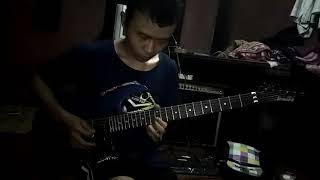 Tutorial lesson derita dibalik tawa lead guitar