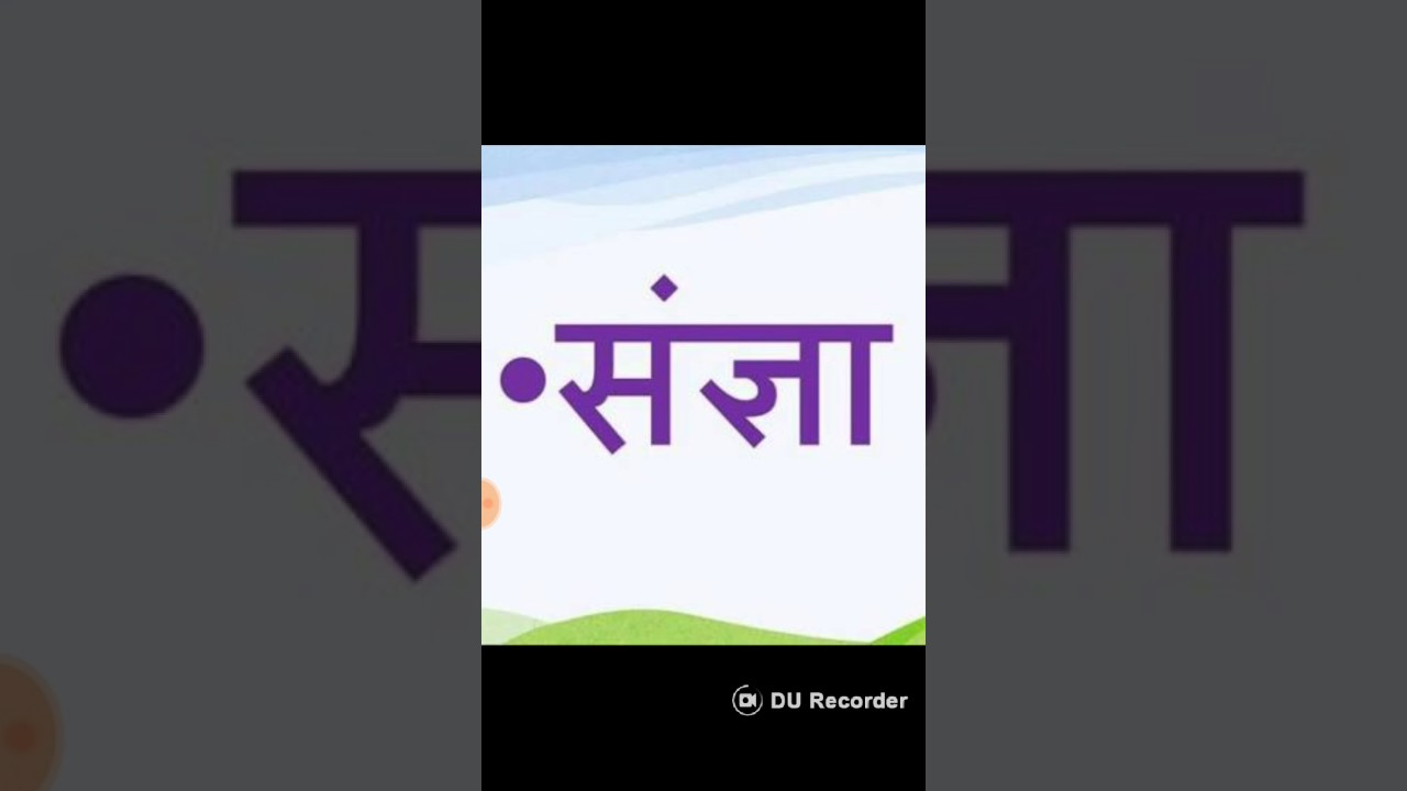 Hindi Grammer sangya - YouTube