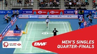 Download Video QF | MS | HEO Kwang Hee (KOR) vs Tommy SUGIARTO (INA) [8] | BWF 2018 MP3 3GP MP4