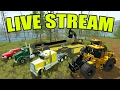 FARMING SIMULATOR 2017 | FINAL BRIDGE BUILDING | LIVE STREAM WITH SPENCER TV
