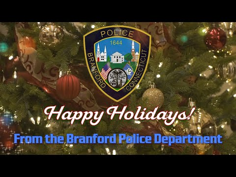Branford Police Department Lip Sync Challenge - All I Want For Christmas Is You