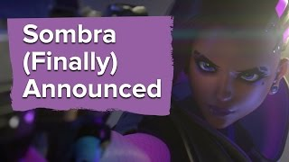 Sombra (finally) announced at Blizzcon 2016 - Infiltration animated short