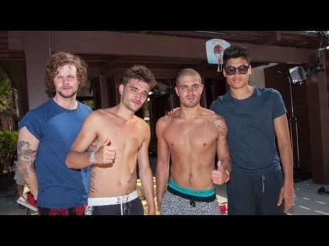 The Wanted Get Wet and Wild in the Caribbean - Splash News | Splash News TV | Splash News TV