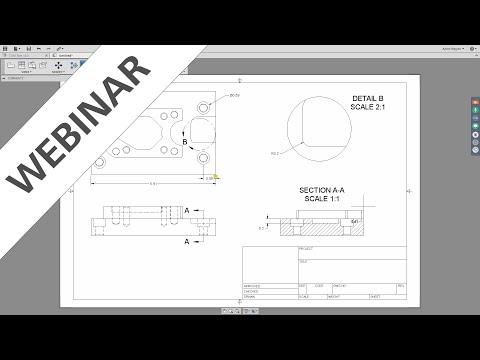 Webinar – Working with Drawings