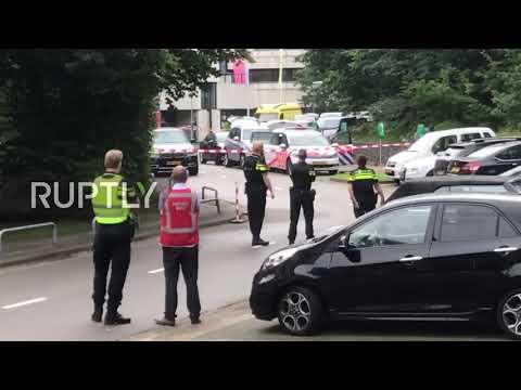 Netherlands: Police lock down Hilversum radio station as hostage situation unravels