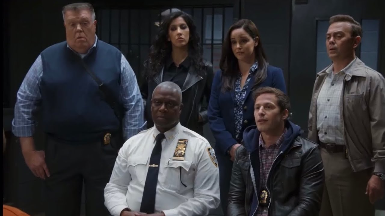 Download The 99 Visit Caleb And Wuntch (Jake's Failed I Want It That Way)   Brooklyn 99 Season 8 Episode 10